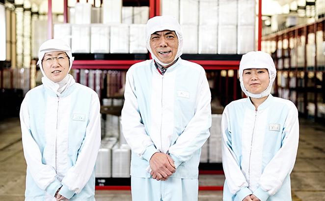 千葉の自社工場が可能にする安全・安心の上質な製品